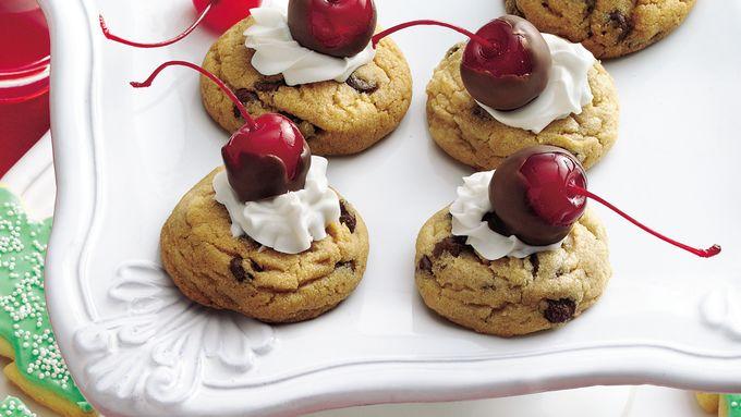 Cherry-Chocolate Chip Cookies