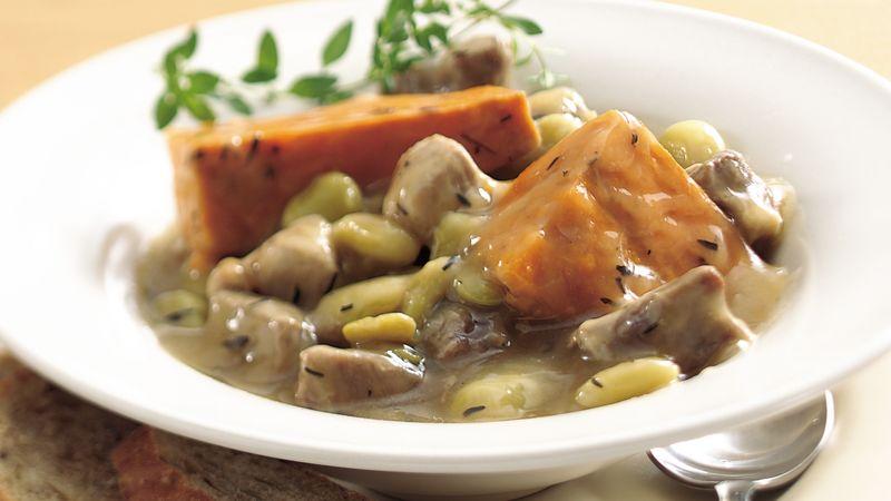 Slow-Cooker Heartland Pork Stew