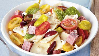 Mediterranean Ravioletti Salad