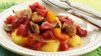 Roasted Vegetable-Tomato Sauce
