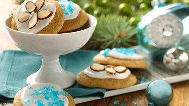 Yogurt Holiday Almond Cookies