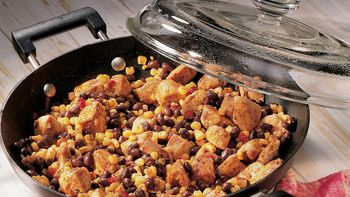 Easy Chicken and Beans