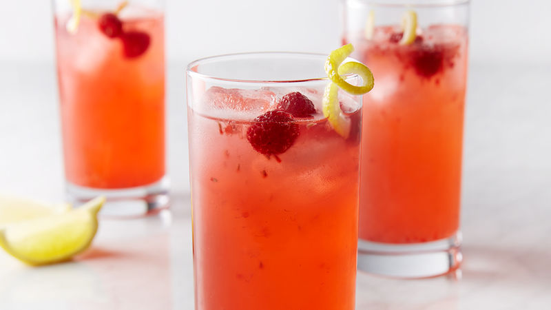 Fresh Raspberry Vodka Lemonade
