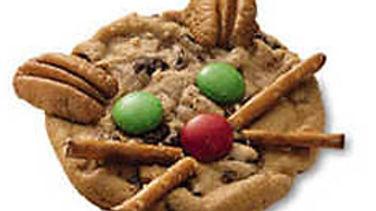Calico Kitty Cookies