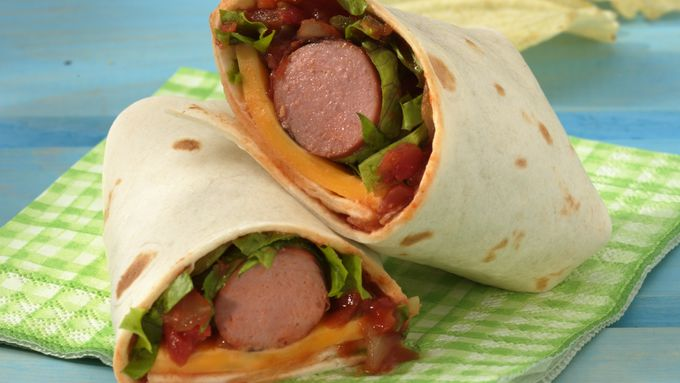 Grilled Salsa Hot Dog Wraps Recipe From Tablespoon