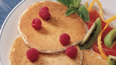 Lemon-Poppy Seed Pancakes