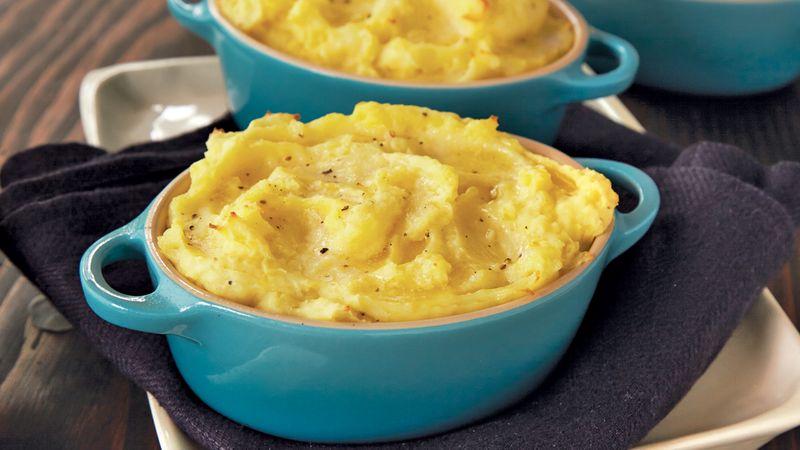 Puffed Mashed Potatoes