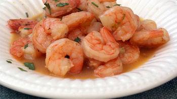 Shrimp Scampi with Beer