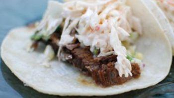 BBQ Brisket Tacos