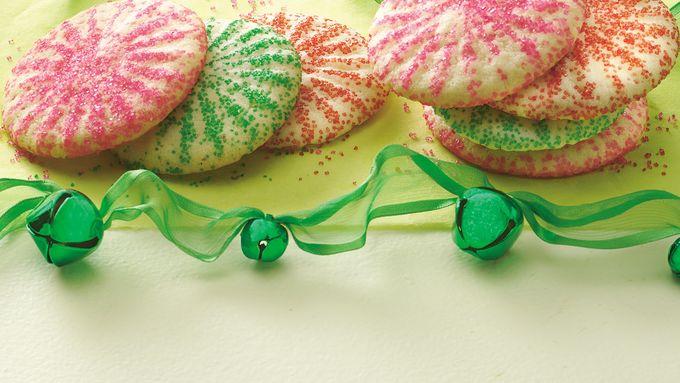 Press-and-Bake Sugar Cookies