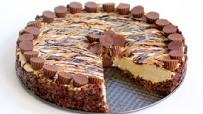 Frozen Peanut Butter Cheesecake recipe - from Tablespoon!