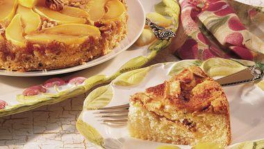 Pear Upside-Down Cake