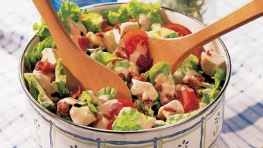 Easy Club Salad