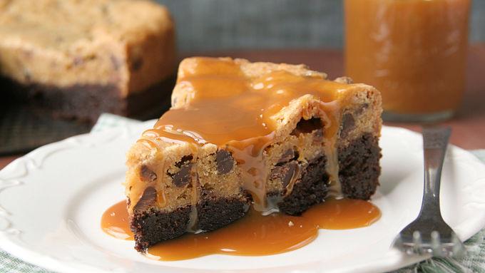 Brownie Cookie Pie