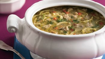 Turkey-Spaetzle Soup