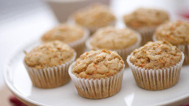 Gluten-Free Carrot and Tangerine Muffins