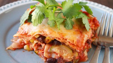 Southwest Sausage and Veggie Lasagna