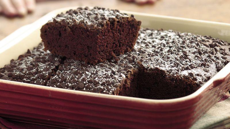 Double-Chocolate Snack Cake