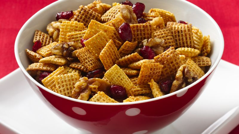 Gluten-Free Cranberry Nut Cinnamon Chex® Mix