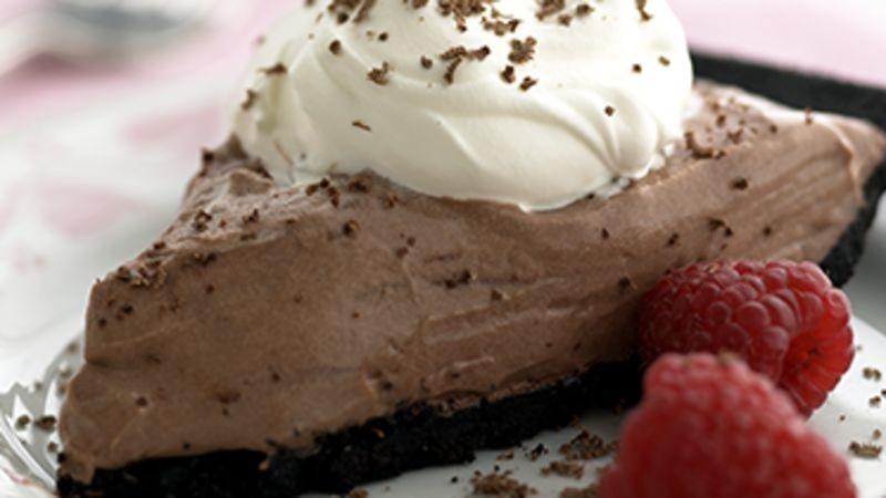 Skinny Triple Chocolate Pie