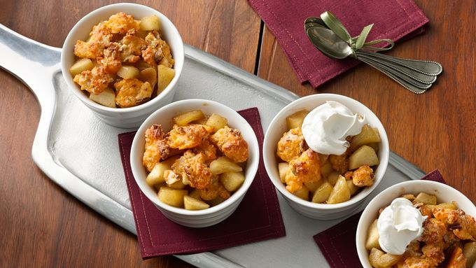 Gluten-Free Cheddar Apple Crumble