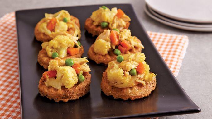 Inside Out Potato Samosas