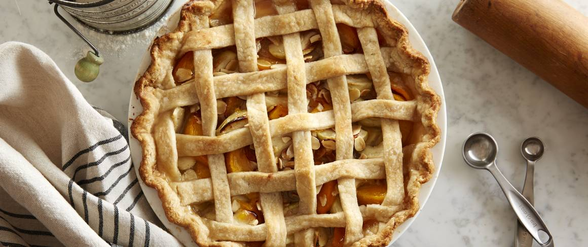 Lattice Peach Apple Pie Recipe From Betty Crocker