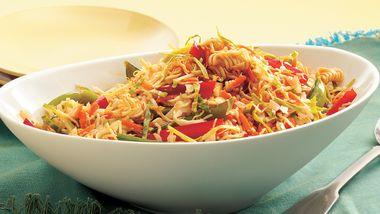 Asian Ramen Noodle Coleslaw