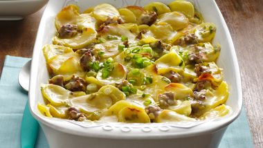 Sausage and Potatoes Italiano