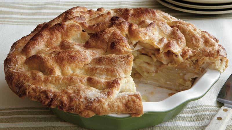 Deep-Dish Ginger-Apple Pie