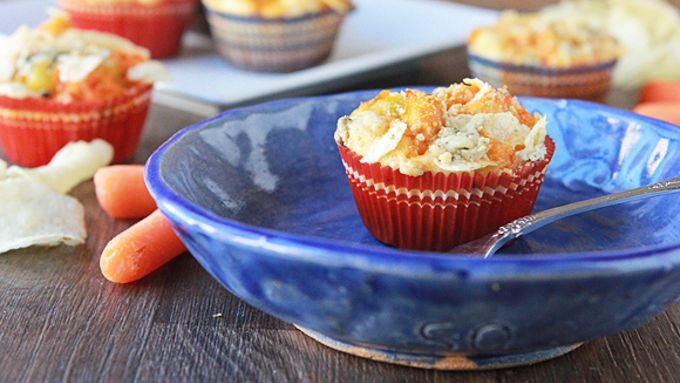 Impossibly Easy Mini Buffalo Chicken Pies Recipe ...