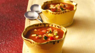 Healthy Spicy Gazpacho