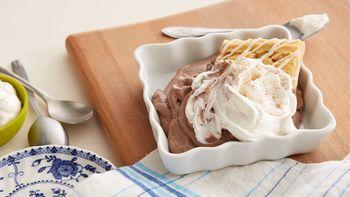 Mexican Chocolate Cream Pie