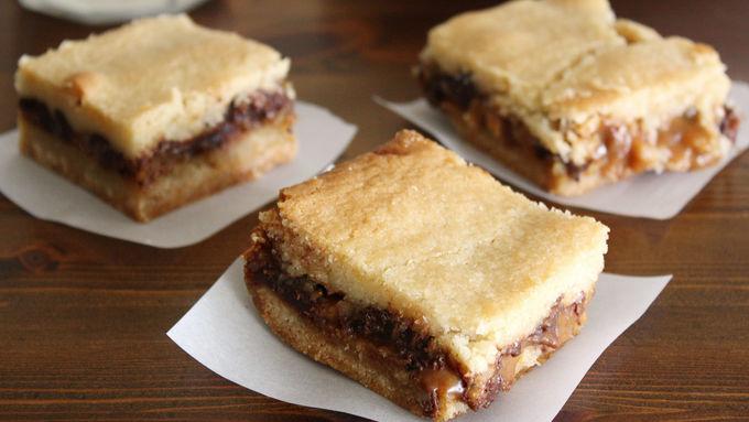 Sugar Cookie Carmelitas