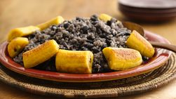 Rice and Black Beans Cuban Style