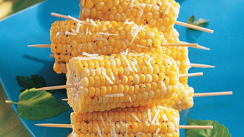 Savory Corn on a Stick
