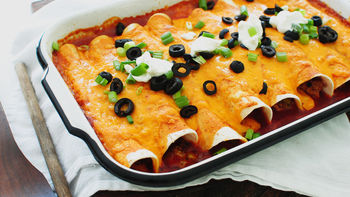 Acapulco Chicken Enchilada Bake