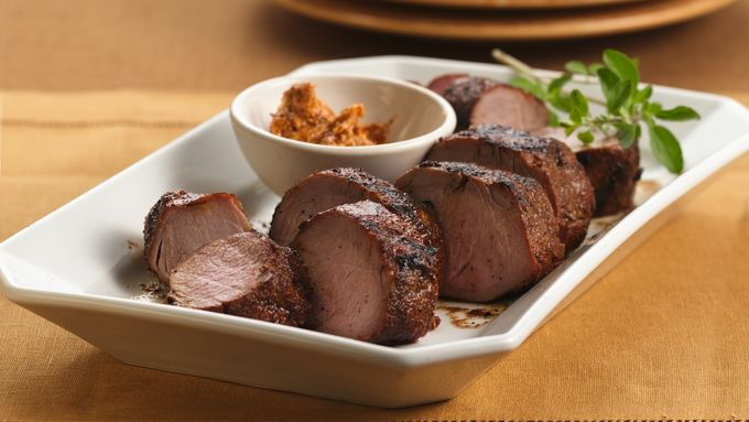 Grilled Chili-Rubbed Pork Tenderloin recipe - from Tablespoon!