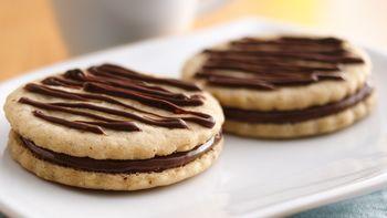 Chocolate Hazelnut Sandwich Cookies