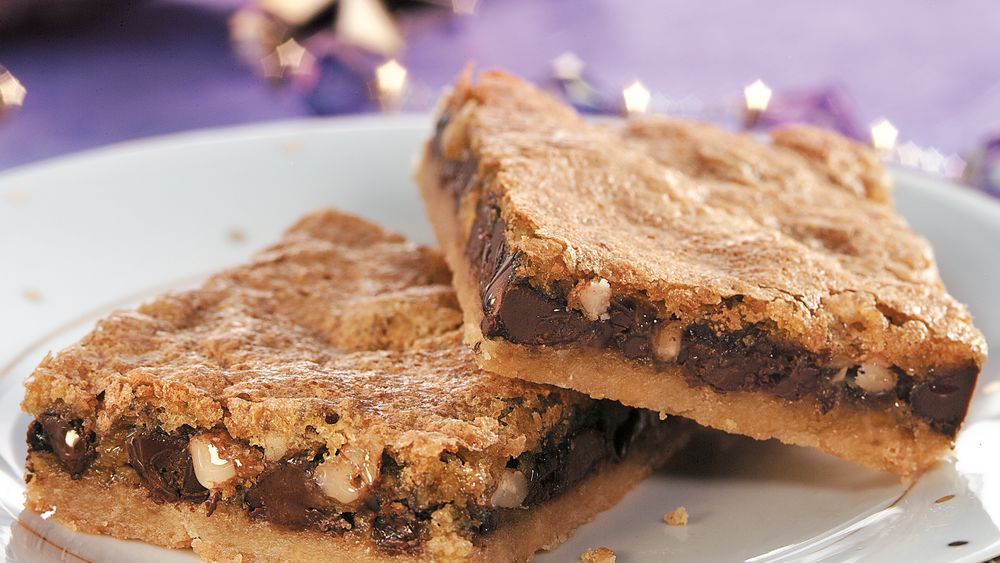 Chocolate Toffee Bars recipe from Pillsbury.com