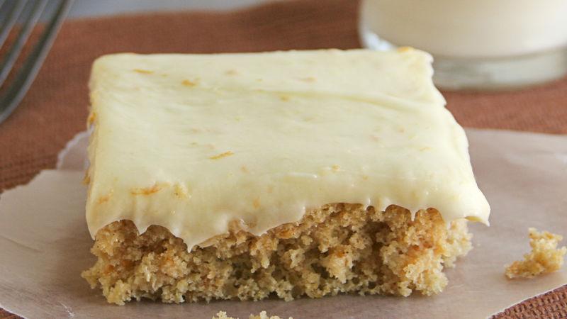 Sweet Potato Sheet Cake
