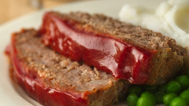 Gluten-Free Glazed Meatloaf