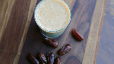 Cinnamon Date Pumpkin Smoothie