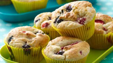 Berry Shortcake Muffins