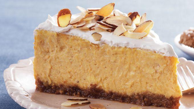 Amaretto-Pumpkin Cheesecake