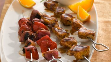 Barbecue Chicken Kabobs