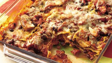 Fiesta Chicken Lasagna