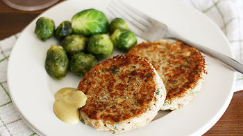 Easy Salmon Potato Cakes