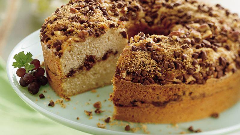 Mocha Streusel Coffee Cake