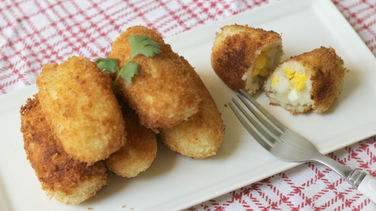 Egg and Potato Croquette